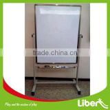 Moveable Revolve Conference Aluminum Double Side School Magnetic whiteboard,smart white board LE.HB.015                                                                         Quality Choice