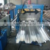 Alu-zinc Metal Plate Floor Decking Roll Forming Machine Floor Deck Roll Forming Machine
