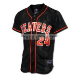 mesh pro sublimation baseball jersey,custom baseball jersey fashion,high quality baseball jersey