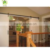 Modern design plywood sliding wood door door barn door with hardware for kitchen and bathroom