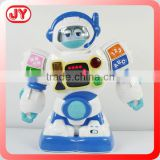 Newest learning toy robot with light&sound