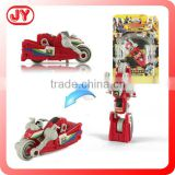 Newest kids play car transform robot toy with EN71