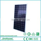 EverExceed 2016 High Efficiency 250w Solar Panel for TUV/VDE/CE/IEC Certificates solar panel kit                                                                                                         Supplier's Choice