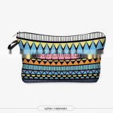 Manufacturer Supply Fashion Travel Cosmetic Bag, Hanging Travel Toiletry Bag, Azteca Makeup Bag