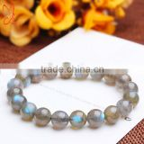 Wholesale high quality blue labradoite beads 4-16mm