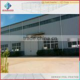 construction design galvanized prefabricated steel structure warehouse building for sale