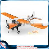 Mini appearance!Wltoys XK A600 3D lock mode fixed wing rc model airplane brushless motor