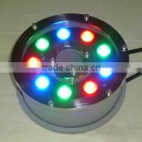 LED Fountain Ring Light