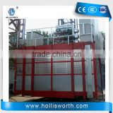 Single Double Cabin Material Lifting Hoist Construction Material Only Lift Building Hoist