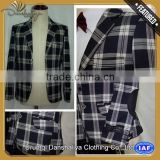 anti-static boys jacket blazer with high quality
