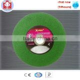 High uality Green silicon carbide cutting wheel for stainless steel cutting&grinding disc
