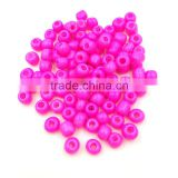 Czech Glass Bead BOHO Bohemia Bead for Bracelet Necklace Hot Pink Color Stock