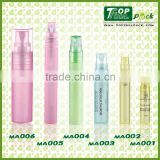 Hot sale Mini Spray Bottles For Oil;Mini Round PP Plastic Perfume bottle; Colorful PP Plastic Container