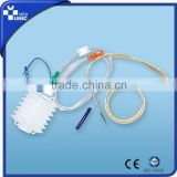 Medical Consumables high vacuum wound drains, aseptic PE Closed Wound Drainage System Hollow