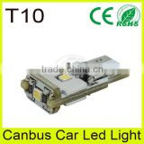 For audi q7 t10 5w5 canbus car led auto bulb, 180lm led door light, 3w led reading light