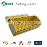 arts and crafts handmade bamboo tea box in good quality