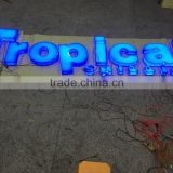Outdoor 3D Luminous Acrylic Sign letter