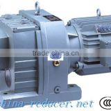 R series Helical inline reductor with ABB motor