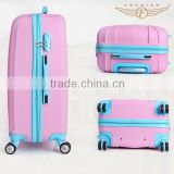 Girls hard shell spinner luggage for sale