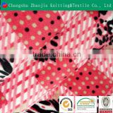 2016 Hot polyester printed super soft warm blanket fabric