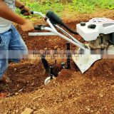 INquiry about China new ginger hand trenching machine small farm trencher