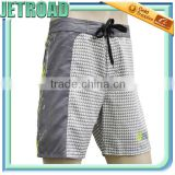 Reflective neon printed logo Polyester Printed Stain Men's Board Shorts-short shorts