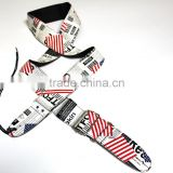 Best sale wholesale professional custom made guitar straps in china manufactory