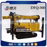 300m DFQ-300 Portable Used Water Bore Well Drilling Machine Prices for Sale with Air Compressor