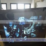 DEFI best price 63square meter(1.27m*49.77m) white front projection films stick on glass