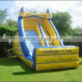 PVC Material and Castle,inflatable air slide Type inflatable castle