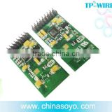 2.4GHz RF digital wireless audio transmitter and receiver module system