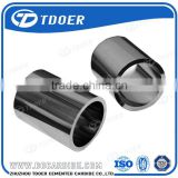 Superfine material cemented carbide shaft sleeve tungsten carbide bearing sleeve bush
