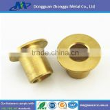 OEM custom supplier diameter 2-80mm small precision CNC Brass Turned Parts