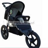 2015 baby jogger stroller ,3pcs 16'' wheels 5 points ,3 postion seat,en1888 with big canopy