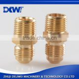 Environmental protection brass npt female bsp male adapter