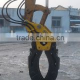 Excavator small log grapple wood grapple made in China