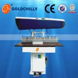 Improved version New design iron table/laundry clothes press ironing machine manufacturer
