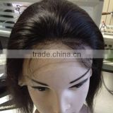100 percent indian remy human hair lace wig peruvian hair lace wig indian hair full lace wig