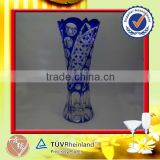 Best Craft engraved 580ml expensive glass vases
