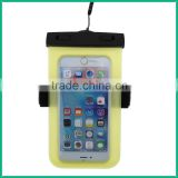 Universal IPX8 Waterproof sport arm band case for mobile phone classical waterproof case with armband