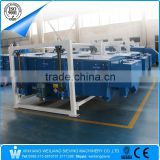 Henan machine-made sand, gravel, ceramsite sand linear vibrating gyratory screen sieve sifter equipment