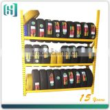 3 layers adjustable Tire Rack for display in shop, Goods shelf for display tire rack ,tire rack storage system