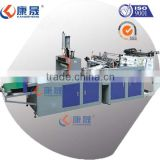 Computer controlled full automatic high speed T-shirt shopping plastic bag making machine price