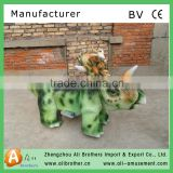 2016 hot sale Amusement animatronic walking dinosaur toy