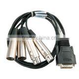 CAB-E1-BNC DB15 a 2×BNC 3M Cable crimp type nuevo