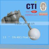 Auto Fill Water Float Valve