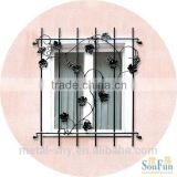 Security window decoration simple window grill guard design