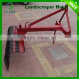 Small grader raker tractor mounted rake for sale
