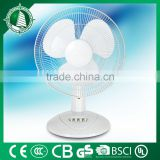 New design for 2016 battery rechargeable table fan bangladesh price with CE,RoHs made in china