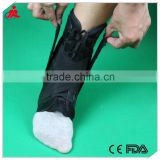 Sports neoprene orthopedic ankle support foot splint / Enhance ankle fracture brace / CE proved adjustable ankle support